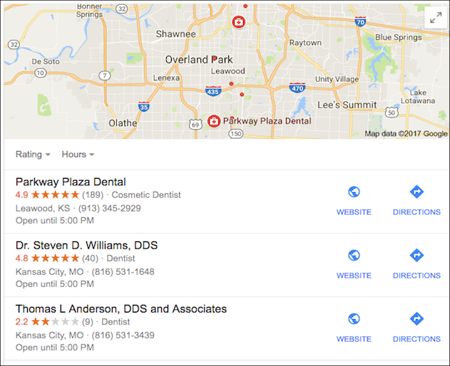 dentist review
