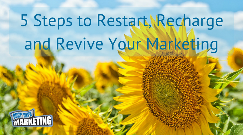 Restart Your Marketing