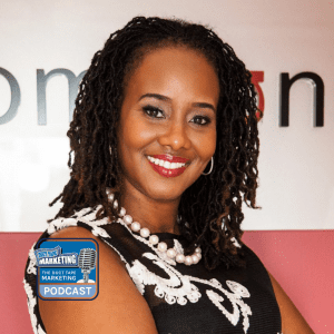 Headshot of Shani Godwin - a guest on the Duct Tape Marketing Podcast